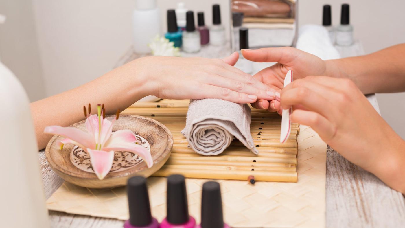 Dream nails home slider